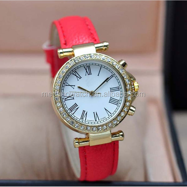 best design transparent automatic mechnical movmement waterproof cheap leather watch