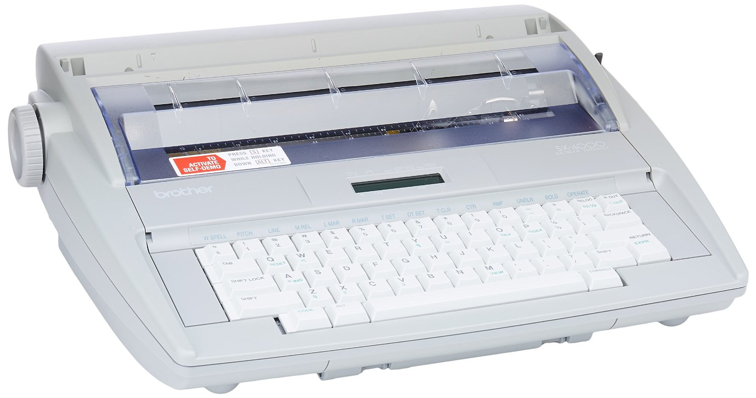 Get Quotations · Brother SX-4000 Electronic Typewriter