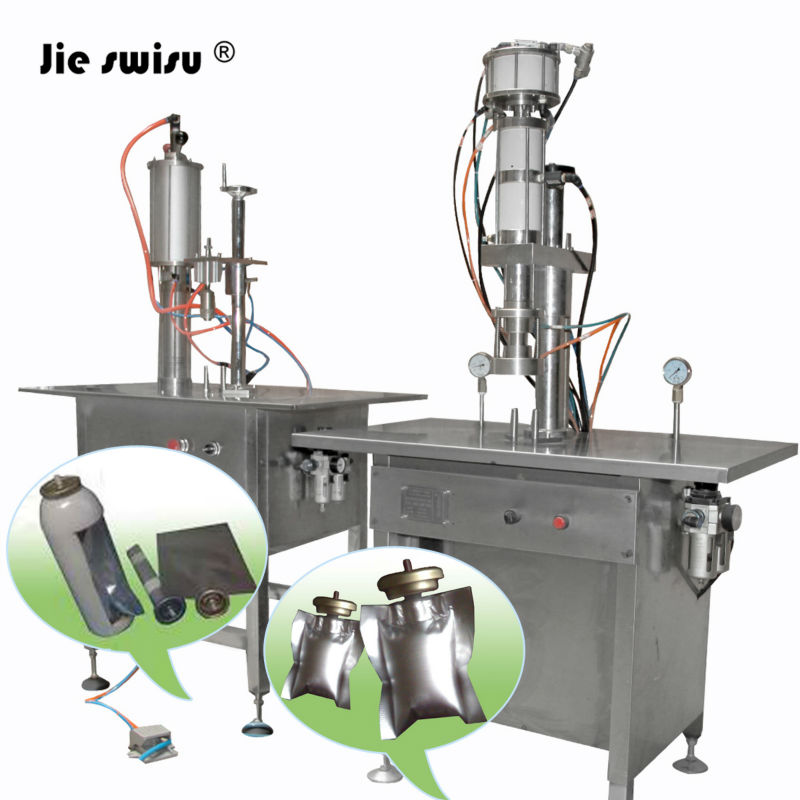Automatic BOV aerosol filling machine