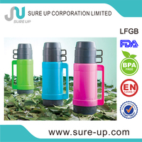 1l glass refill vacuum thermos flask coffee makers (FGUB)