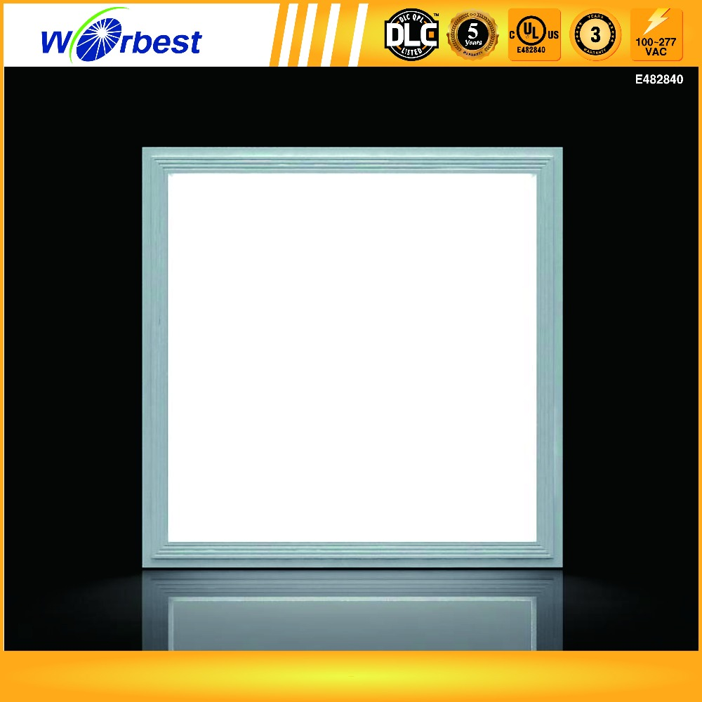 5 years warranty UL DLC listed non-dimmable 2ft*2ft led panel down light 40W