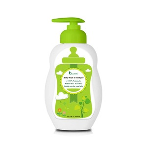 Wholesale Baby Care Products Baby Hair Shampoo & Body Wash (2 in 1) 200ml Manufacturer Supply