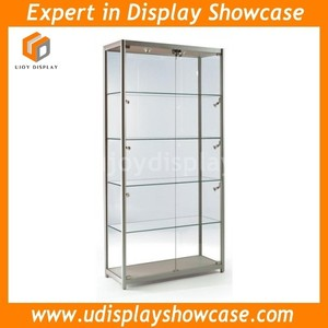 Chinese Aluminium showcase for sale with led lights