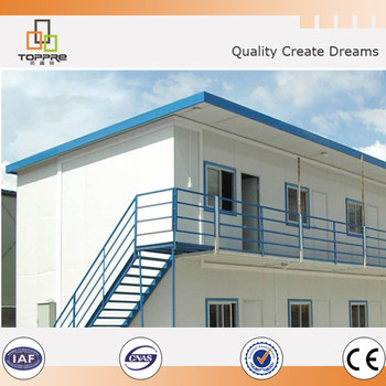 New t style companies duplex prefab house modular dwell for Modular duplex prices
