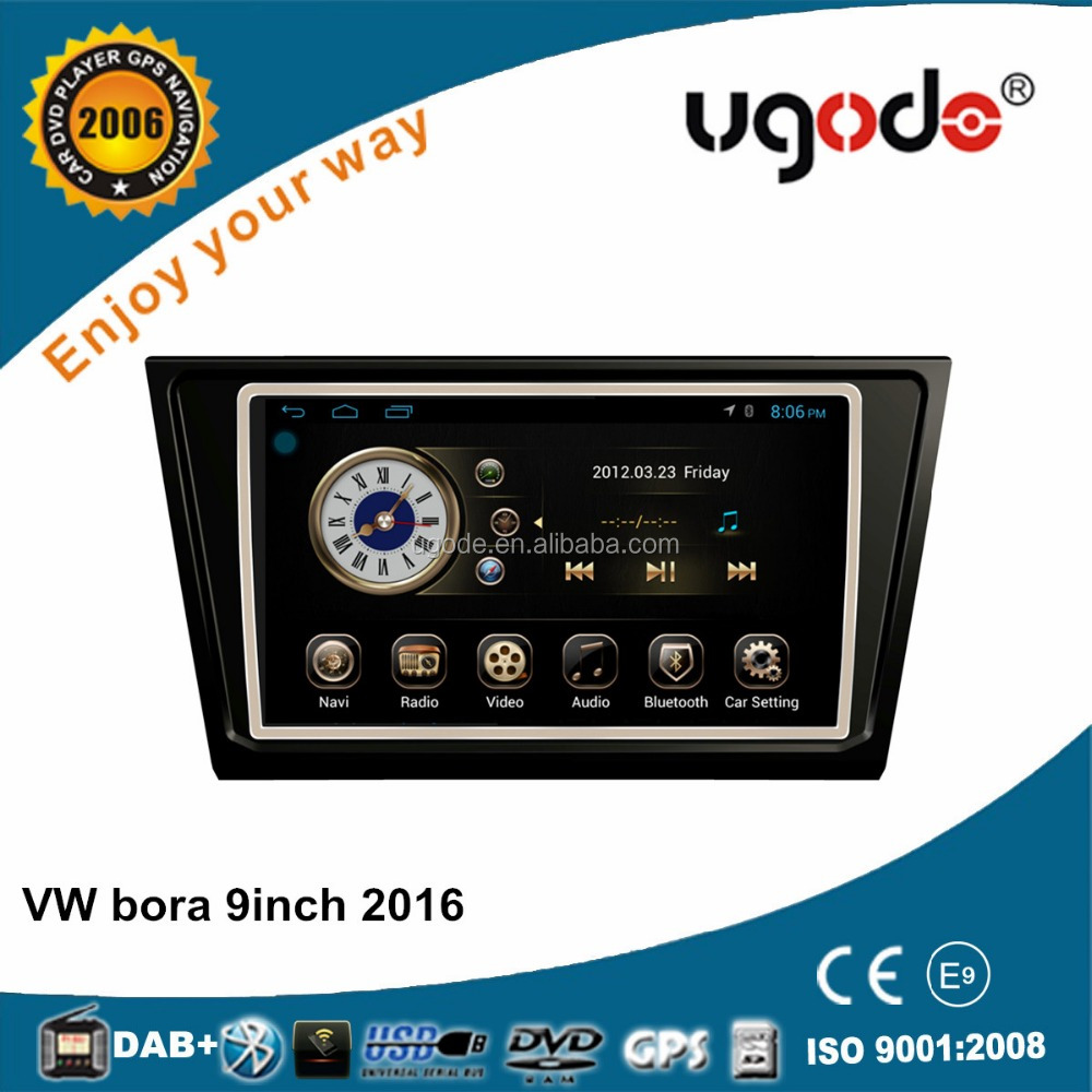 factory car radio GPS for Volkswagen Bora 2015