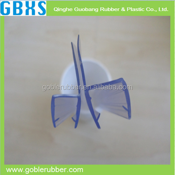rubber glass shower door seal strip with rational