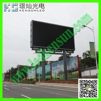 Digital 3D LED display dual color led signs screen flexible Arc 3D LED display