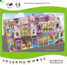 EU Standard Indoor Playground with Slides, Tunnels, Ball Pool, Small Houses and colorful floor mats
