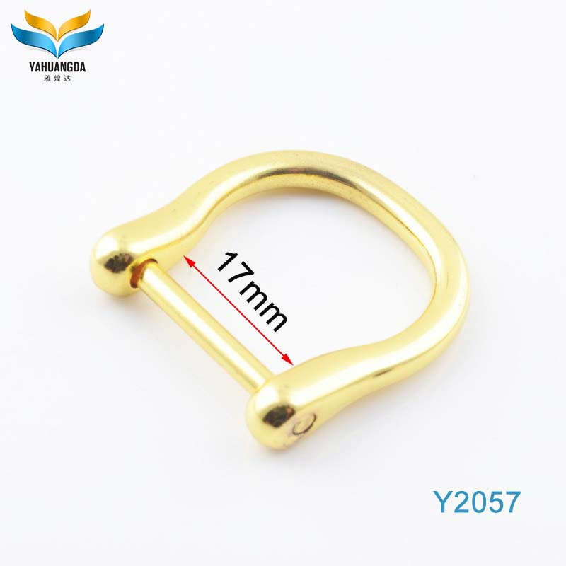 zinc alloy fashion heart-shaped metal D ring