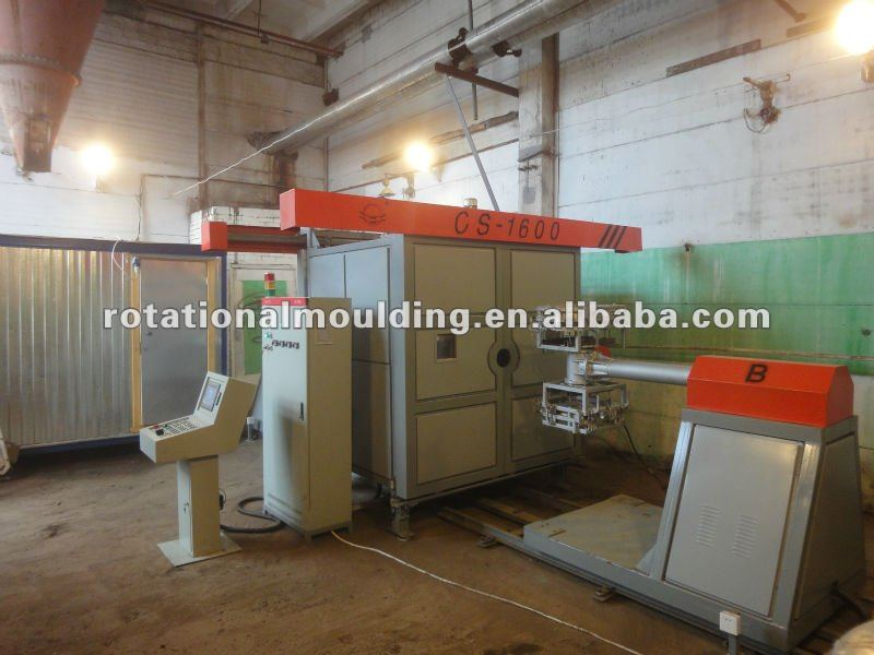 New design price of paper cups PE TANK MOLDING machine 3A-2500 with great price