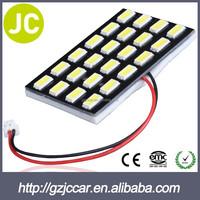 White 5630 24SMD Auto Car Reading Interior Lamp 12V T10 BA9S Festoon Adapters 5730 LED Map Light