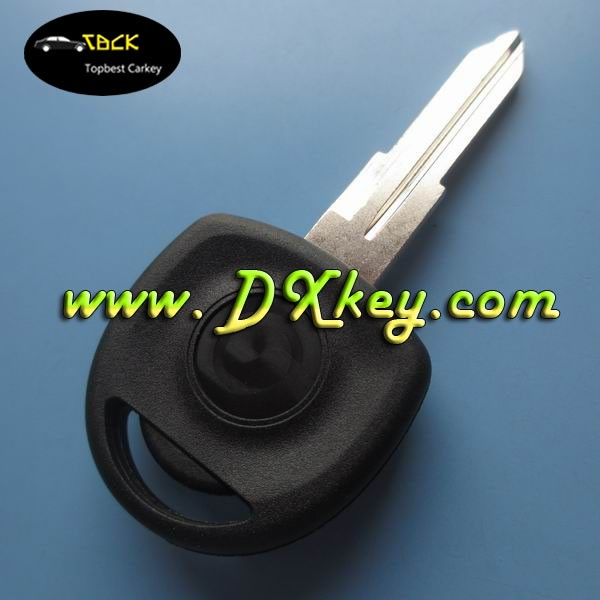 fake car key with left blade for opel key with ID40 chip key transponder chip opel