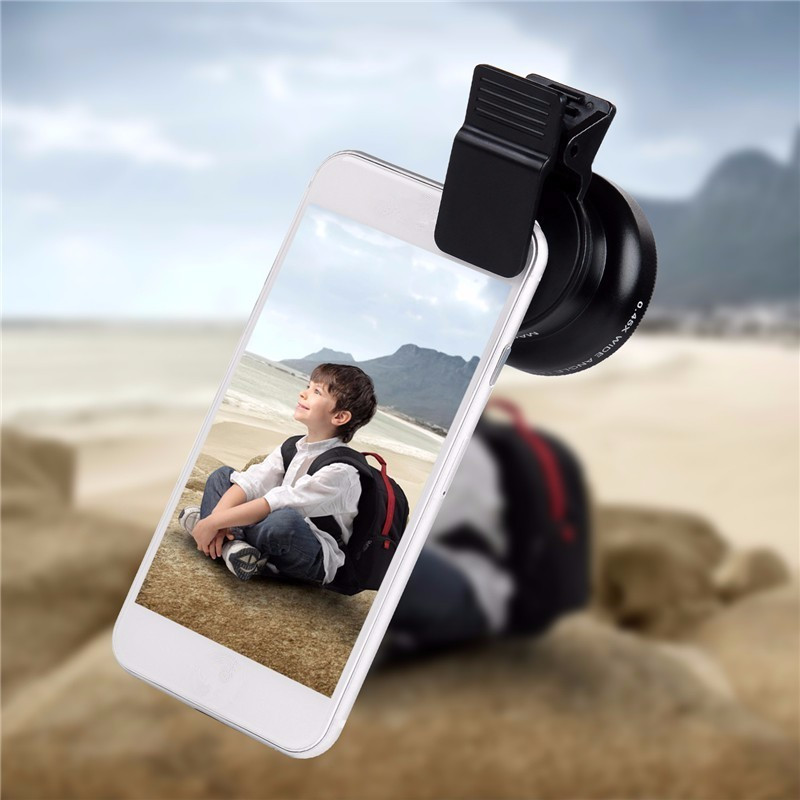 Universal Clip 3 in 1 Smart Cell Phone Camera Fisheye Lens