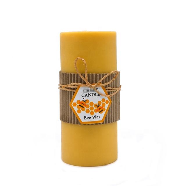 천연 꿀벌 왁스 촛불 장식