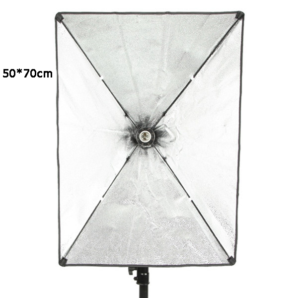 50x70cm Softbox Soft Box With E27 Lamp Holder Socket Soft Cloth For Photography Studio Lighting Photographic Equipment parts