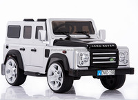 Luxury licensed toys battery powered rc car,land rover toy car,selling driving toy for kids with two opening doors