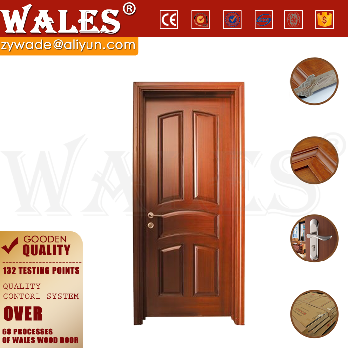 OEM design engineered wood two flat panel 32 x 79 exterior door