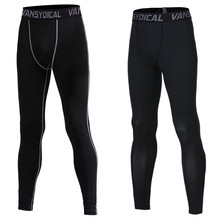 Skinny Pants Wholesale Sports Leggings Compression Tights Jogger Pants Men