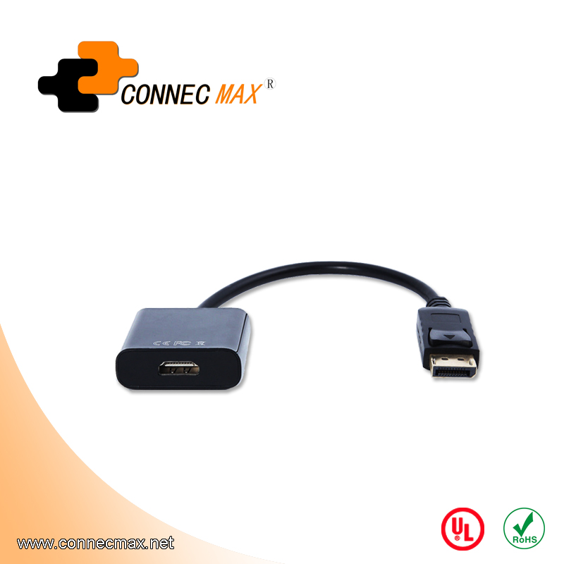 Displayport DP male to HDMI female adapter cable
