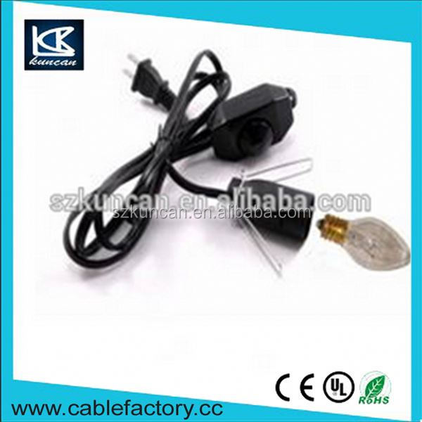 China Suppliers light cord kit e27 screw holder line