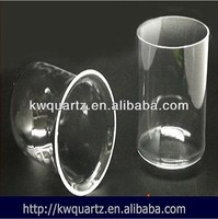 quartz large glass cylinder from china factory