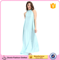 Domin fashion guanzhou factory OEM ladies silk night dress