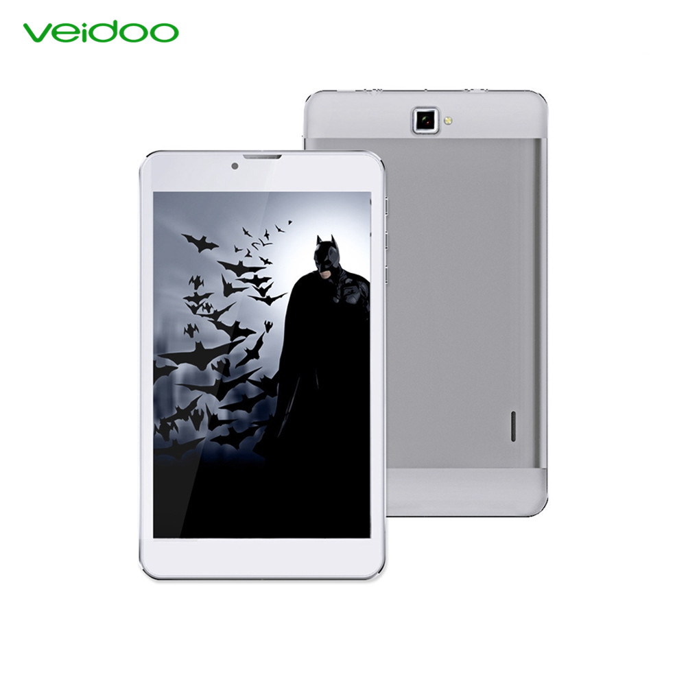 Veidoo China factory 7 inch quad core dual sim card tablet SC9832 4G Android 6.0 tablet PC фото