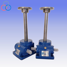 reliable mechanical lift worm gearbox screw jack design