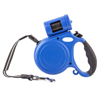 Pet Retractable Leash with Bag Holder