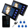 self design & Produce Home apartment 7 Inch TFT Touch Screen Color Video Door Phone Intercom Camera Entry System