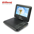 Hot sell! MTK solution 7 inch Portable DVD Player