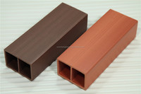 Recycled plastic lumber/plastic wood/WPC indoor decking wpc ceiling