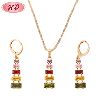 Hot sale wholesale 2015 Fashion dubai costume 18K gold plated jewelry pearl sets