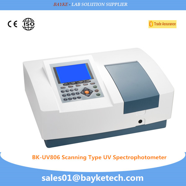ultraviolet/visible scanning spectrophotometer 190-1100nm nanodrop spectrophotometer