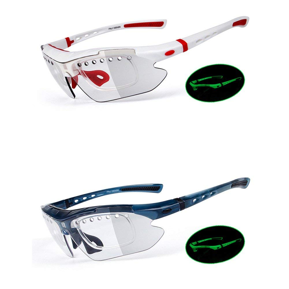 34661328312 Get Quotations · Etbotu Sun Glasses Retro Mirror Change Color Shades Sport Cycling  Goggles Glasses