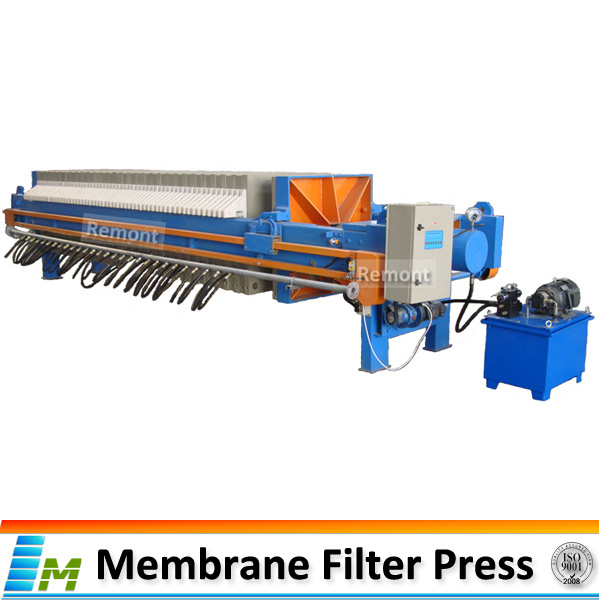 PP plate mining filter press for molybdenum minerals