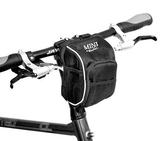 NEW Cycling Bike Bicycle handlebar bag front basket with Rain Cover