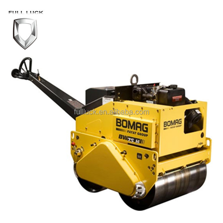 Fashion Eco Friendly Updated BOMAG Walking type Double Drum Vibratory Rollers BW75H