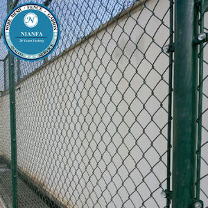 Wholesale Iron 50-60mm Opening Chain Link Fence For Baseball Fields(Guangzhou Factory)