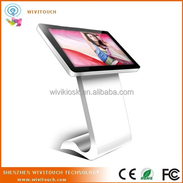 digital self-service touch screen Advertising Kiosk
