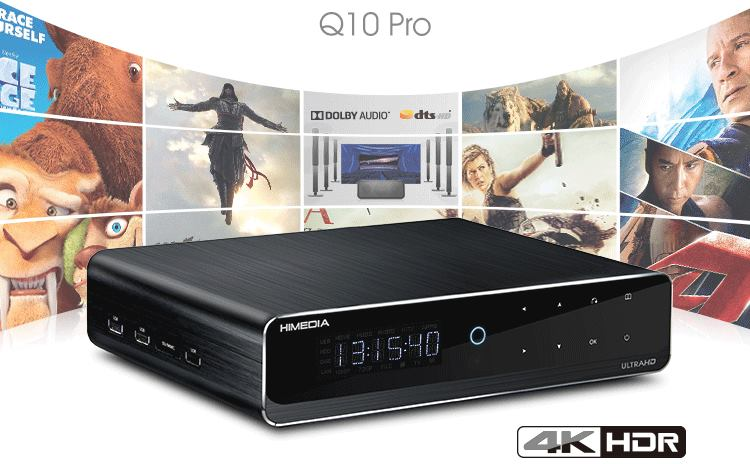Himedia Q10 Pro 4K Touch Screen Android TV Box 7.1