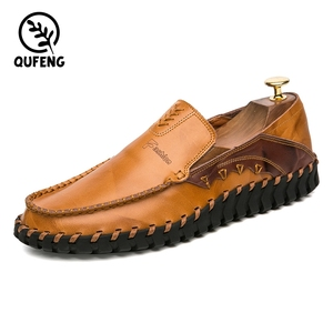 Custom LOGO Italy Casual Boat Shoes,Driving Shoes Rubber Sole,New Style Cheap Fashion Men Leather Loafer Shoes