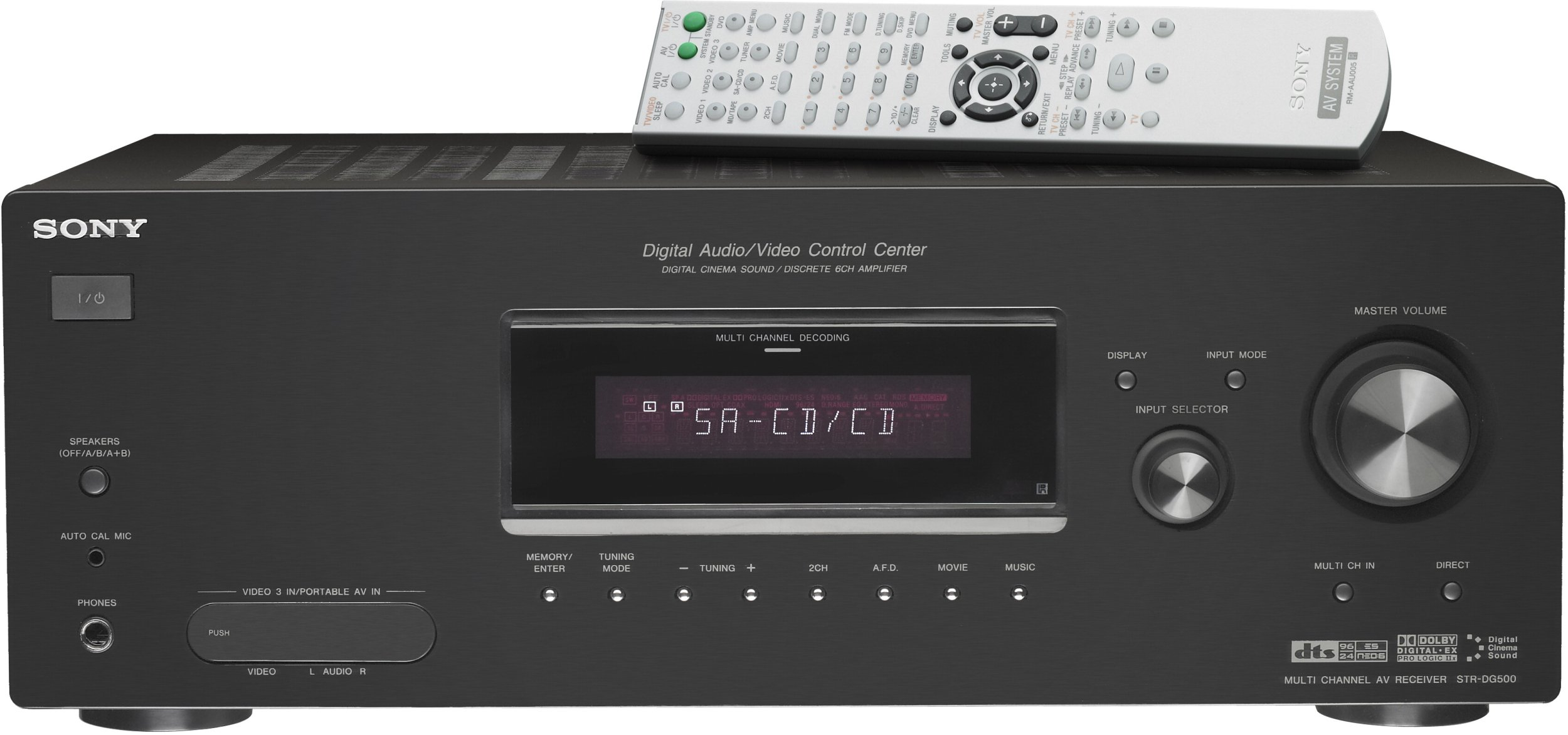 Sony STR-DG500 6.1 Channel Home Theater Receiver (Discontinued by Manufacturer)