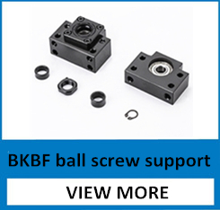 EK15 Fixed Side and EF15 Floated Side for ball screw end support cnc part