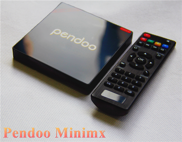 home used Pendoo Minimx Pro S912 2G 16G ubox tv box wholesale online Android 6.0 TV Box