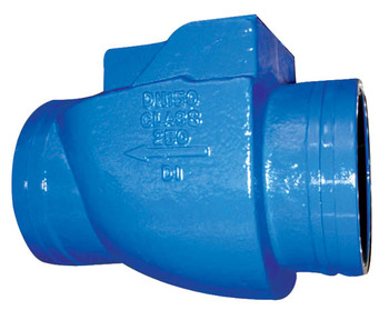 AWWA C606 Standard Grooved End Swing Check Valve
