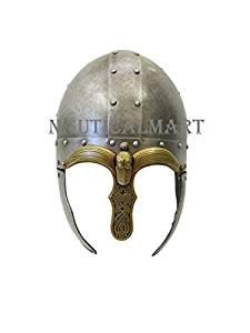 Larp Armour Spangenhelm Saxon Viking Helmet By Nauticalmart