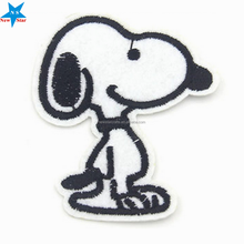 Custom Snoopy embroidery patch