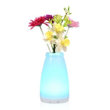 Rechargeable Decorative Flower Vase Shape Led Table Floor Lamps