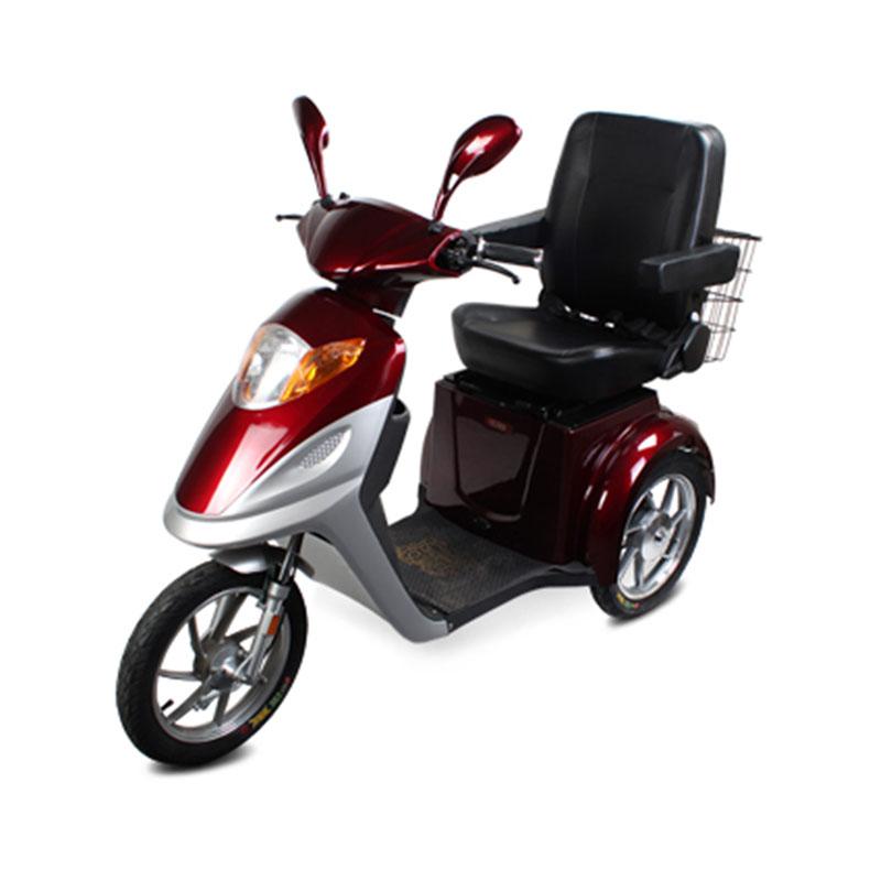 Alibaba Urance Electric 3 Wheeled Motorized Motorcycle